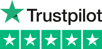 5 Star Trustpilot Rating