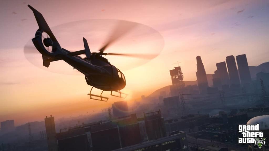 GTA V Helicopter
