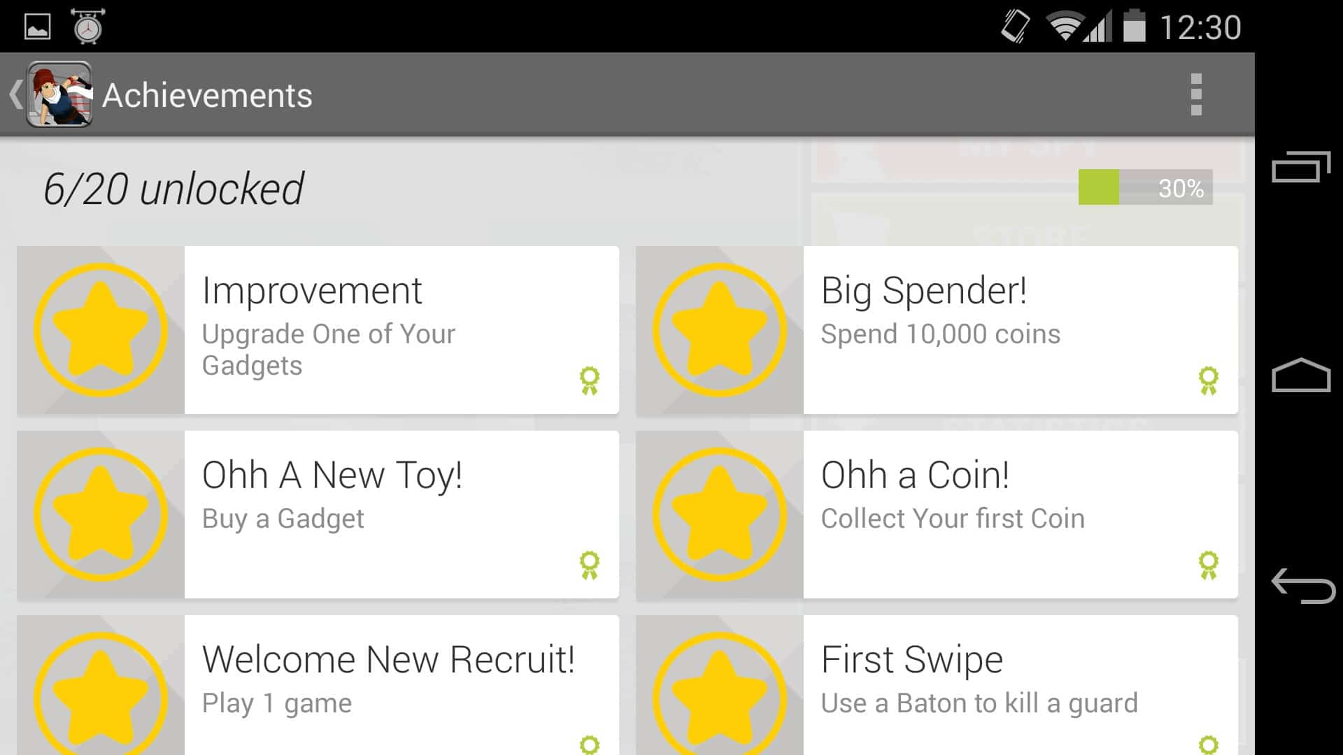 Android Achievements