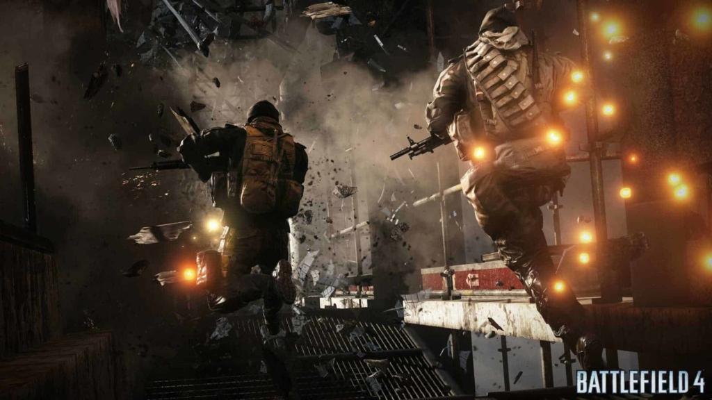 Battlefield 4 squad jumping