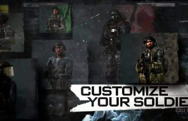 Call of Duty Ghosts customise your soldier - Ultimate Gaming Paradise