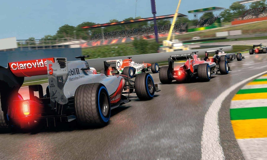 F12013 wet weather racing