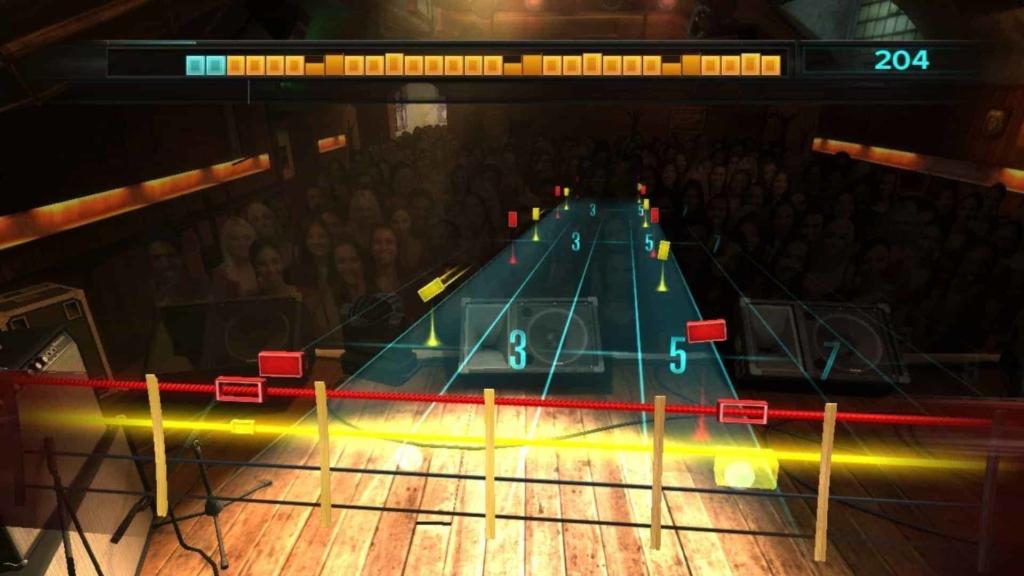 Rocksmith in game