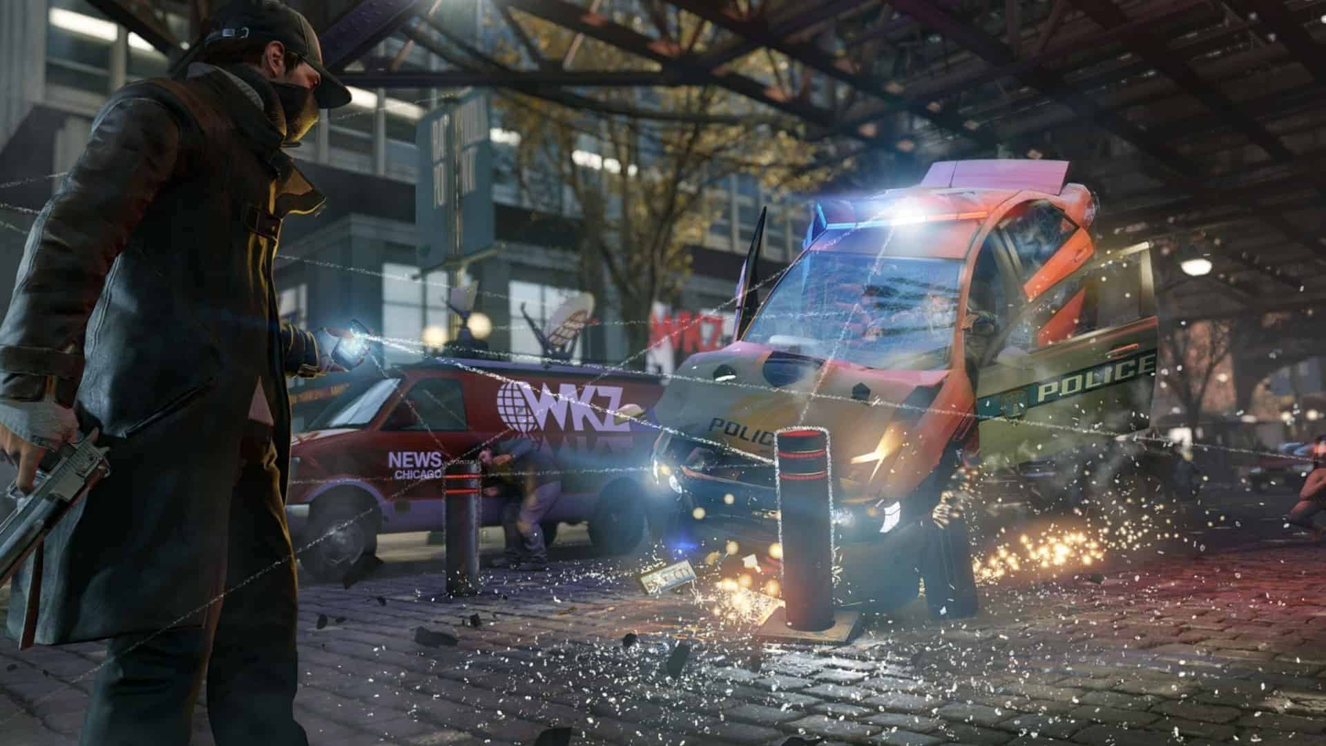 Watch Dogs Car Crash