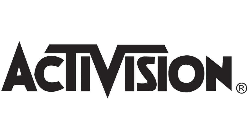 Activision Black on White logo Xbox 360 Logo Black And White