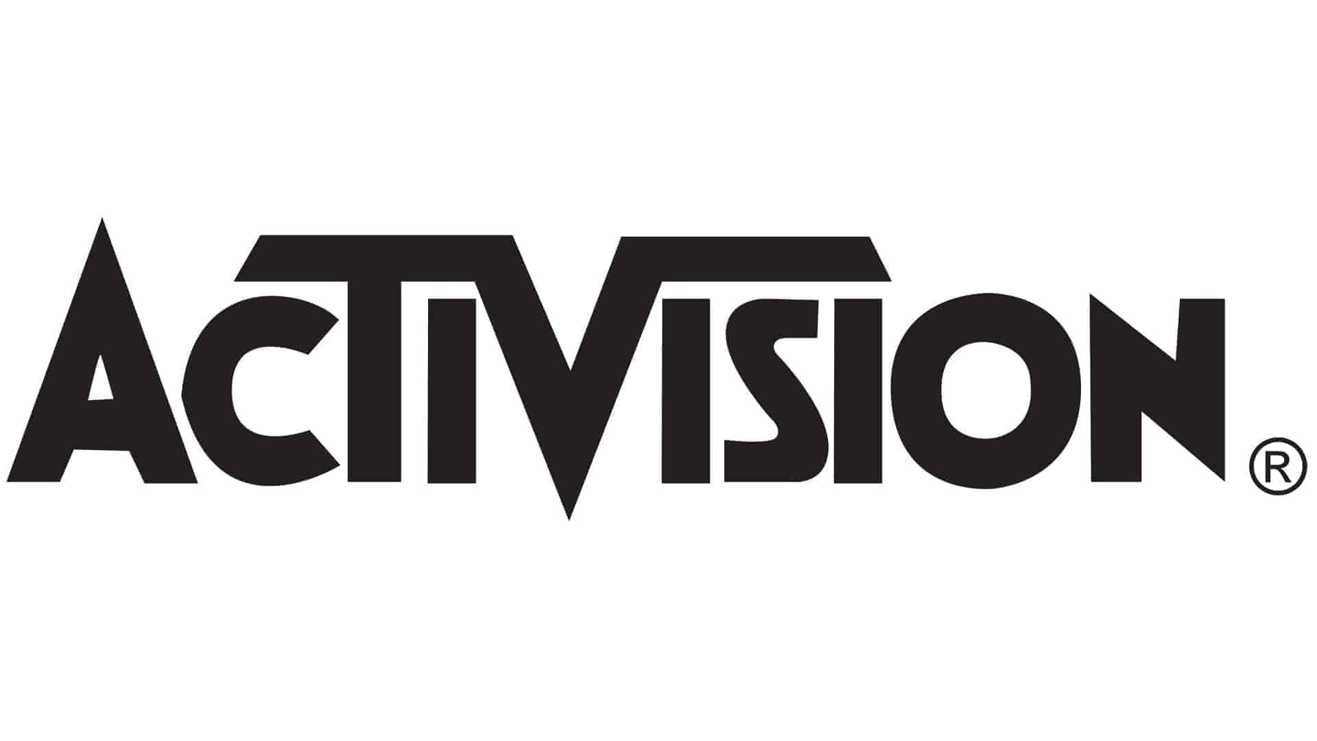 Activision Black on White logo