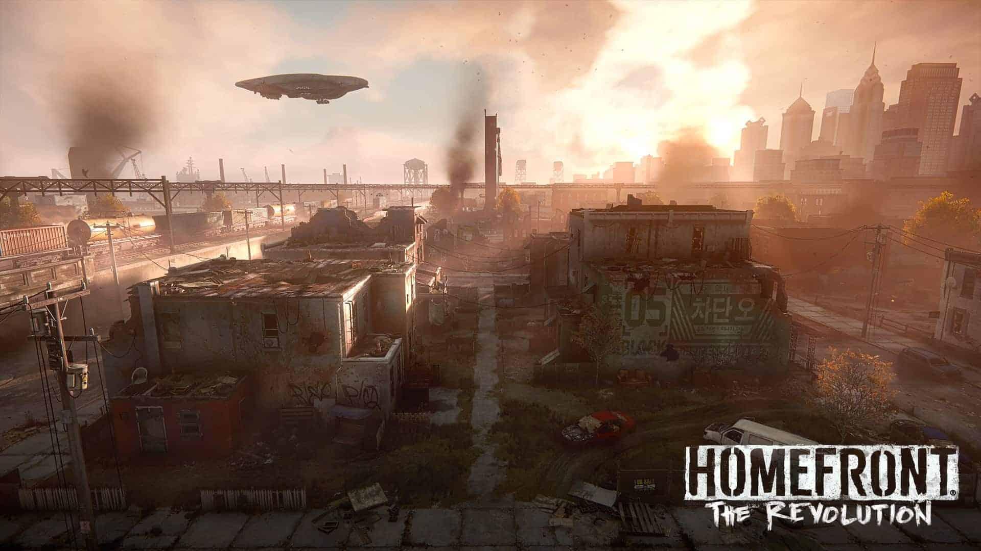 Homefront The Revolution City Scene
