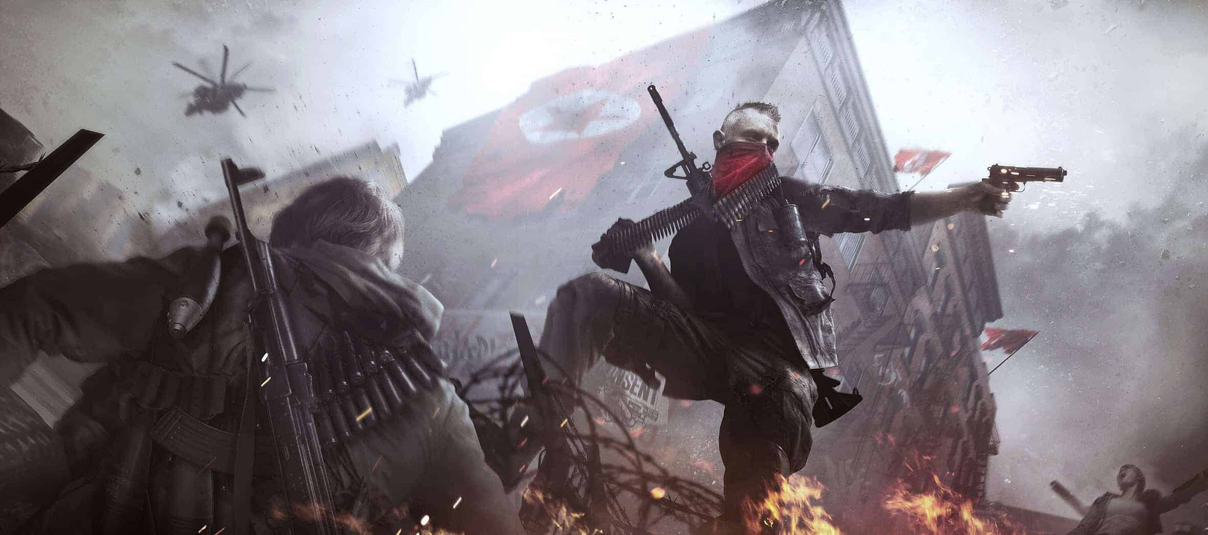 Homefront The Revolution Preview Artwork