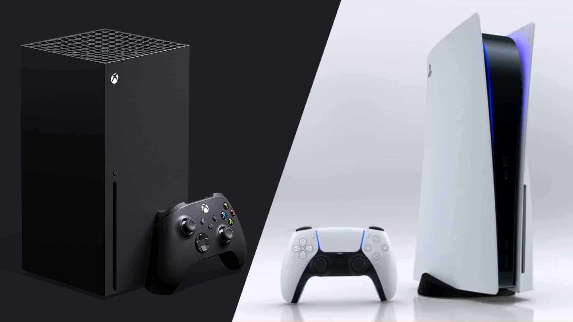 Xbox Series X and PS5 side-by-side