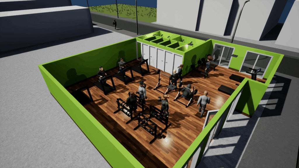 Gym Tycoon Workout Room