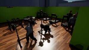 Gym Tycoon Weights Room