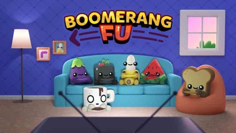 Boomerang Fu Title Artwork