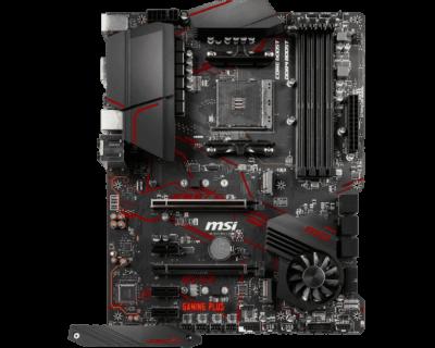 MSI X570 GAMING PLUS Flat View