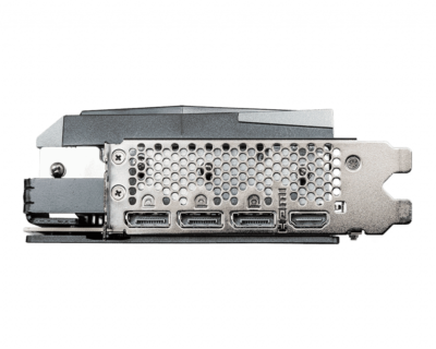 MSI GeForce RTX 3070 8GB GAMING X TRIO - IO Panel View