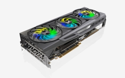 Sapphire Radeon 6800 XT SE - Angled View