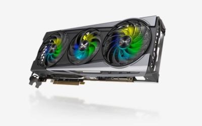 Sapphire Radeon 6800 XT SE - Angled Fan View