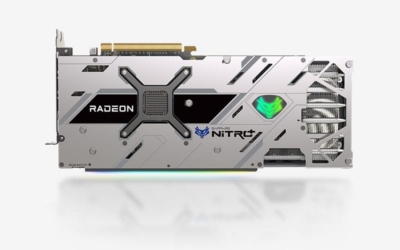 Sapphire Radeon 6800 XT - Top View