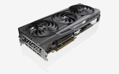 Sapphire Radeon 6800 XT - Angled View