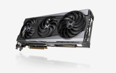 Sapphire Radeon 6800 XT - Angled Fan View