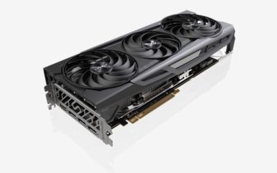 Sapphire Radeon 6800 - Angled View