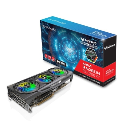 Sapphire Radeon 6800 XT SE - Box Promo