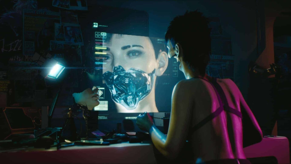 Cyberpunk 2077 Beautiful and deadly