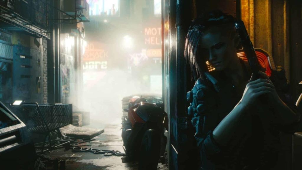 Cyberpunk 2077 - Just around the corner screenshot