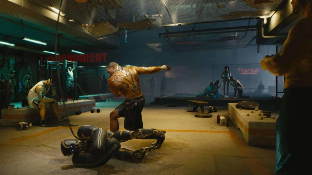 Cyberpunk 2077 Sparring Session