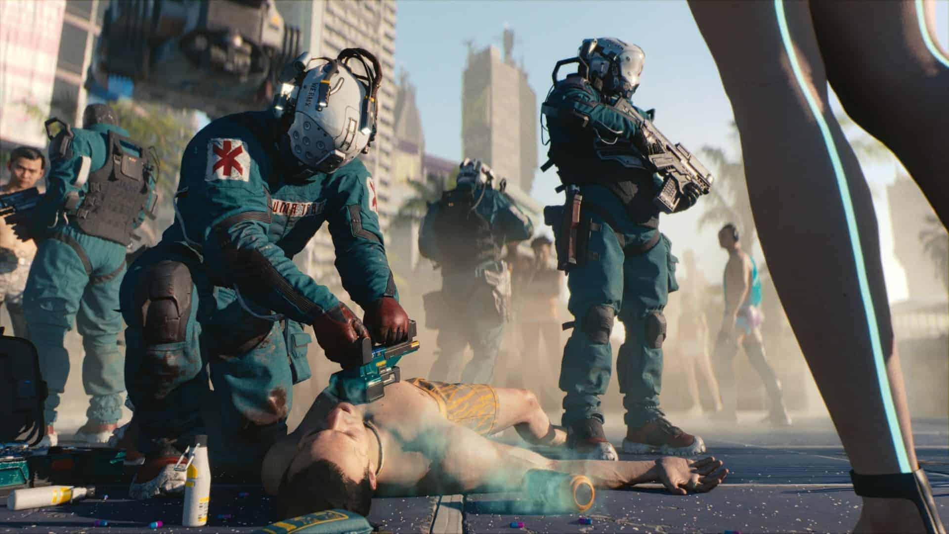 Cyberpunk2077 Trauma Team RGB