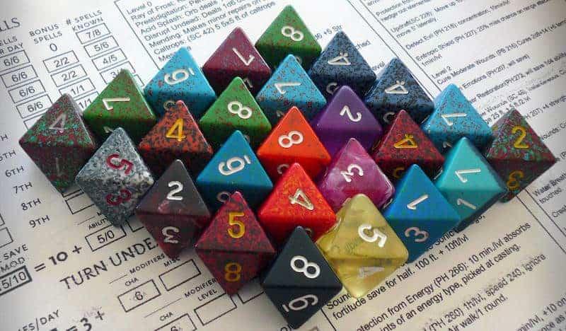 Polyhedron Dice