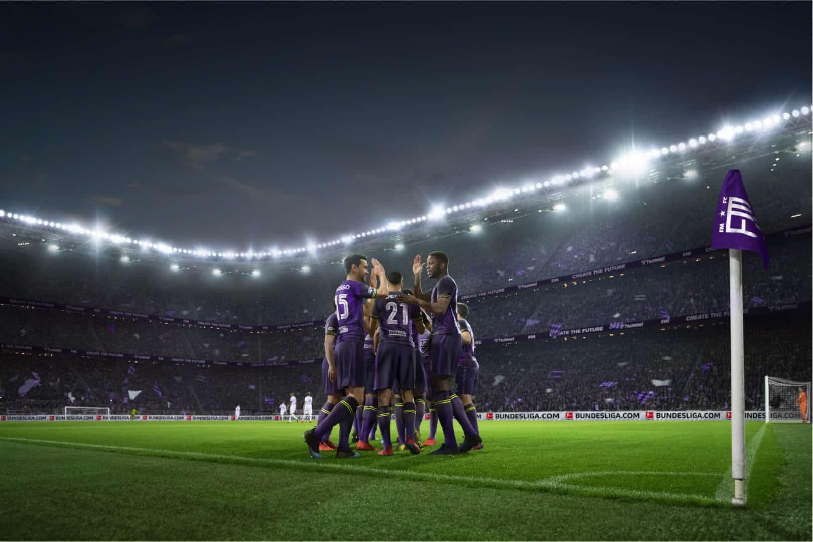 Football Manager 2021 Artwork