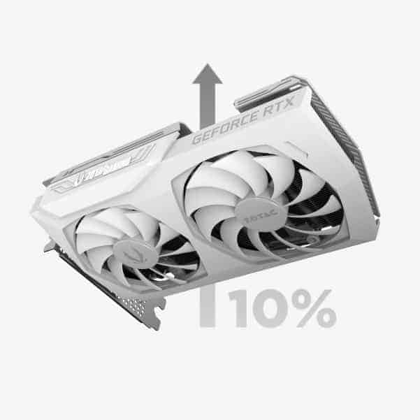 Zotac RTX3070 Fan Illustration