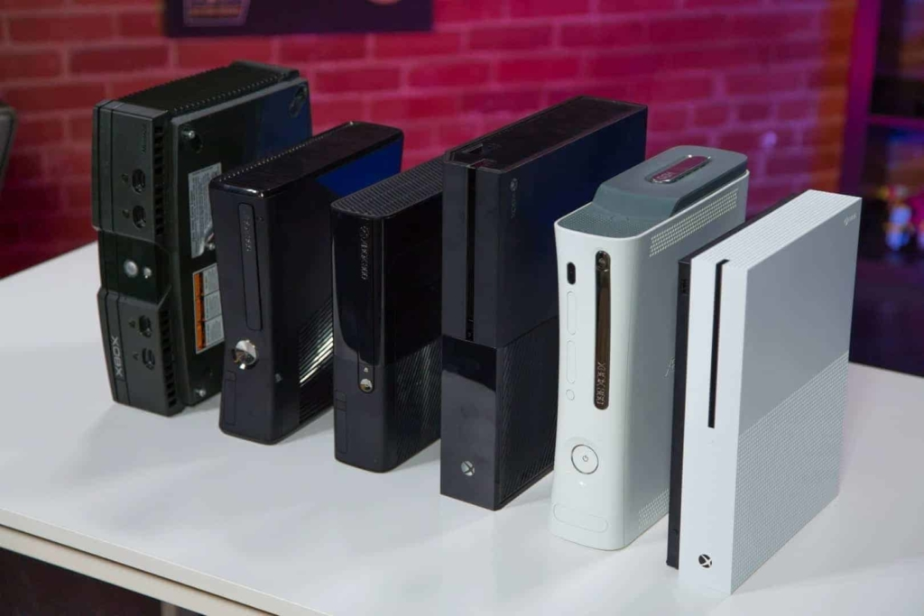 Generations of Xbox consoles