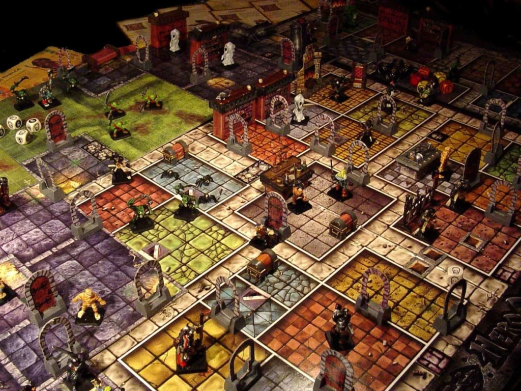 Dungeons & Dragons in-action