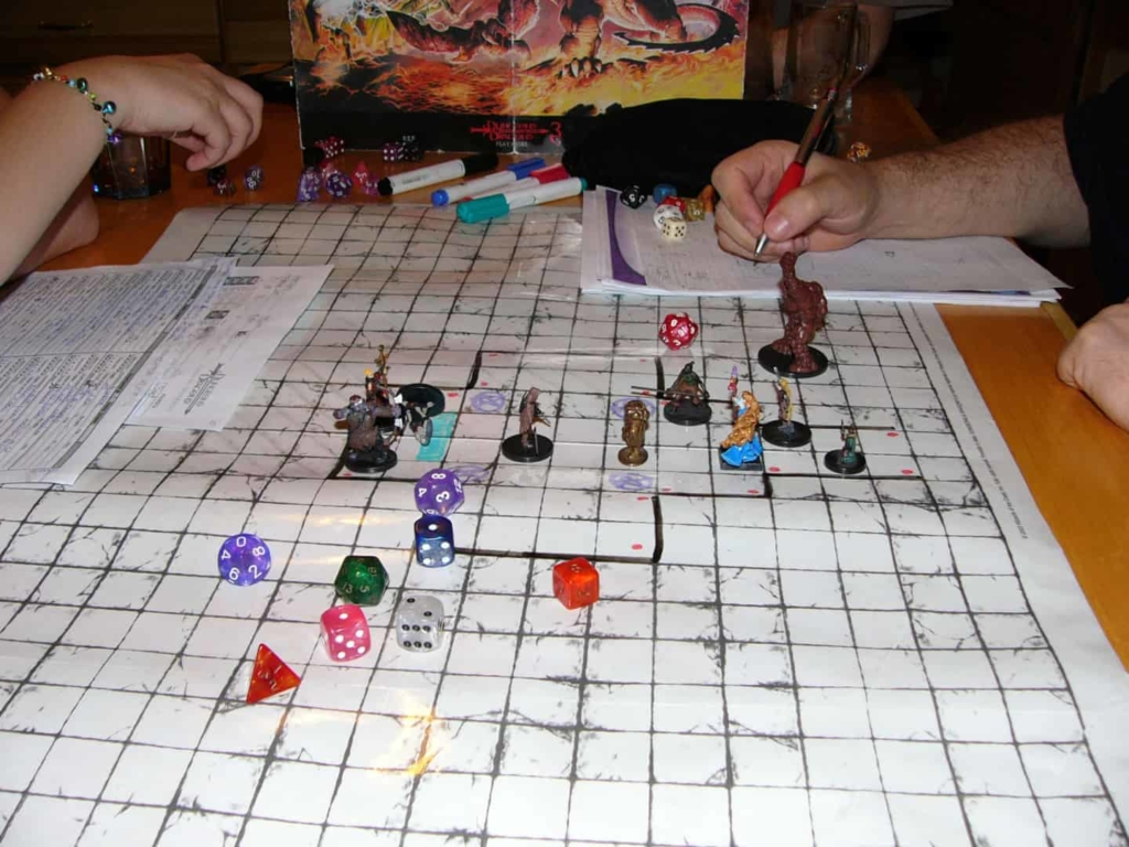 Home-made D&D Board