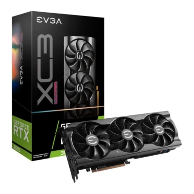 EVGA GeForce RTX 3070 XC3 ULTRA GAMING - Promo Angle