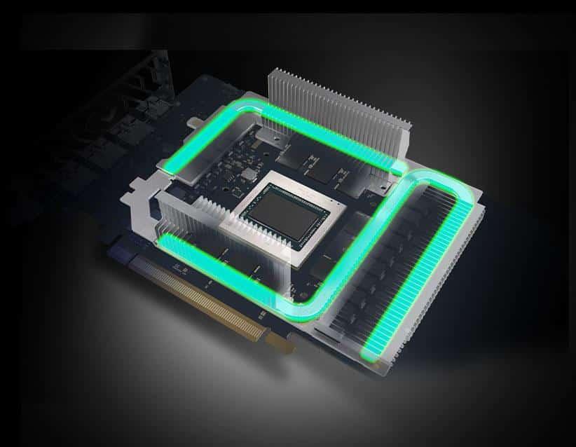 Sapphire RX 6800 Cooling Module Diagram