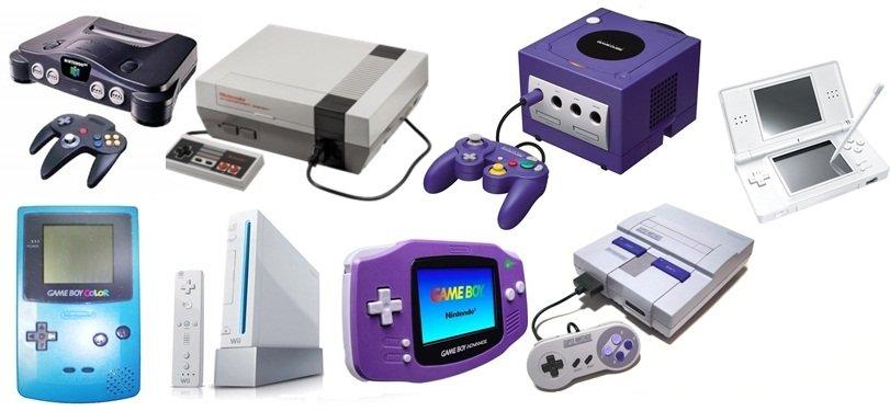 Generations of Nintendo consoles
