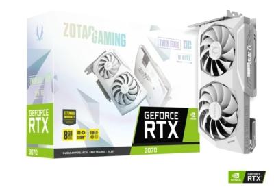 ZOTAC GAMING GeForce RTX 3070 Twin Edge OC White Edition - Box View