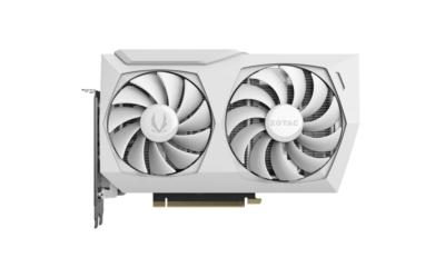 ZOTAC GAMING GeForce RTX 3070 Twin Edge OC White Edition - Fan View