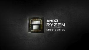 AMD Ryzen 5000 Series Black Wallpaper