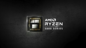 AMD Ryzen 5000 Series Black Wallpaper