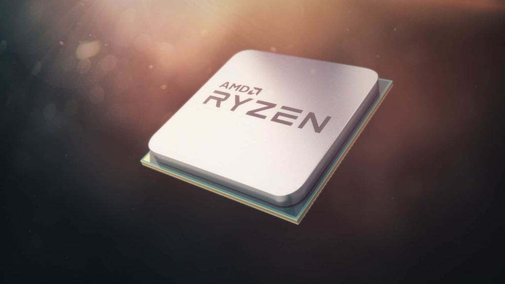 AMD Ryzen Chip Artwork