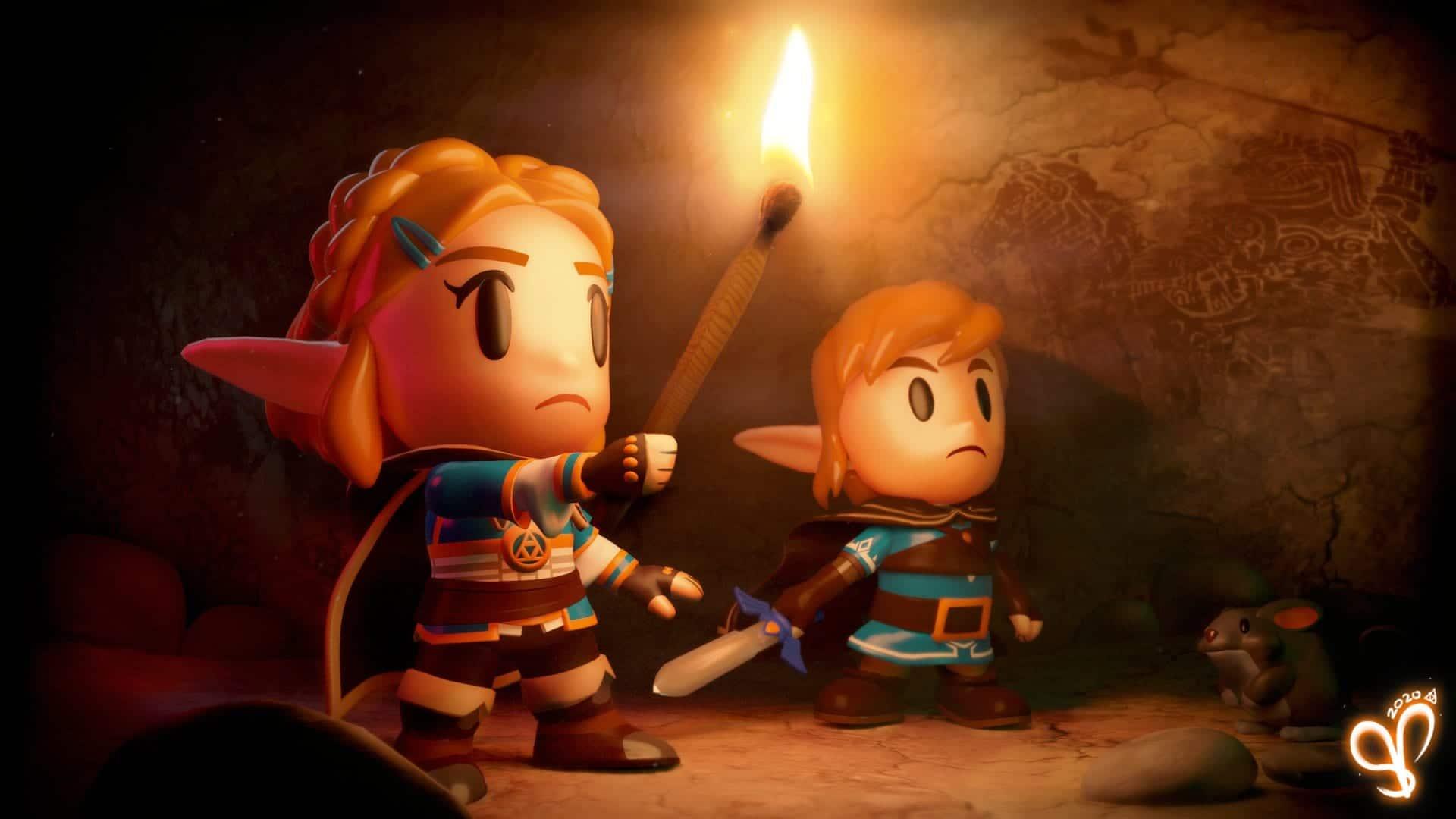 The Legend of Zelda: Breath of The Wild 2 Artwork