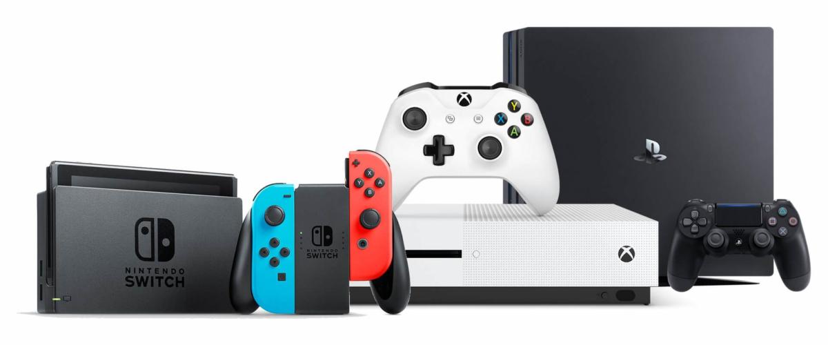 Video Game Consoles Range