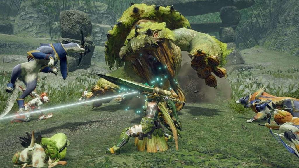 Monster Hunter Rise Demo Sword