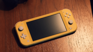 Yellow Nintendo Switch Lite