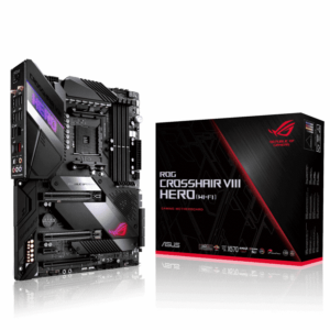 ASUS ROG Crosshair VIII Hero WiFi - Promo View