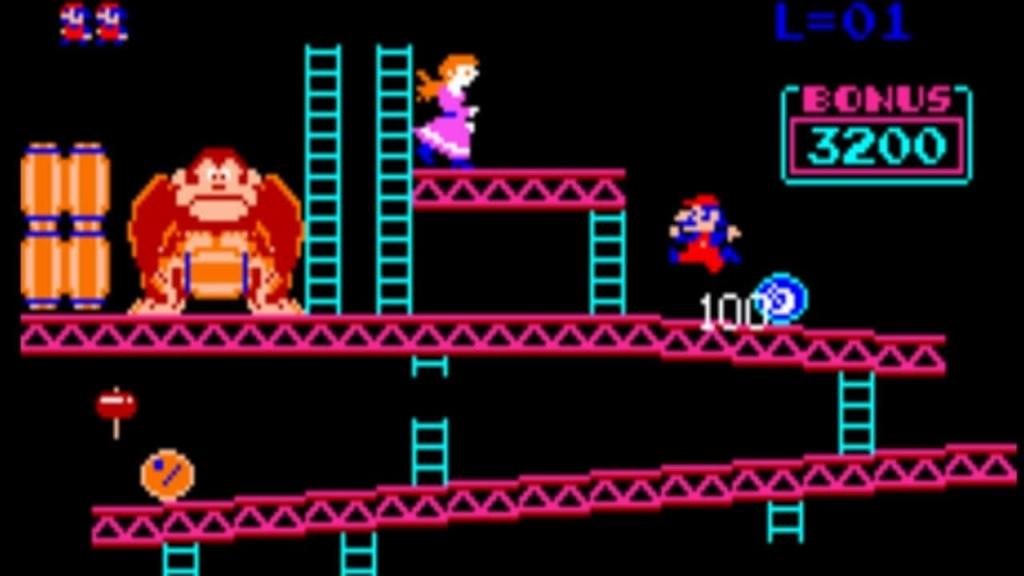 1980s Donkey Kong