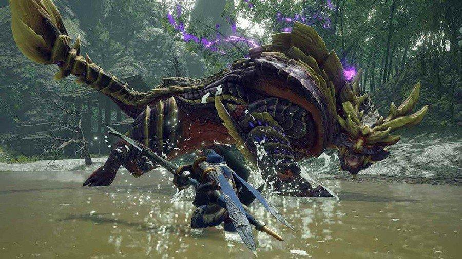 Monster Hunter Rise Demo Gameplay Image